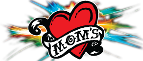 Mom's Millennium Ink Sticky Logo Retina